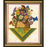 Набор для вышивания бисером Абрис Арт АВ-095 Букет фото
