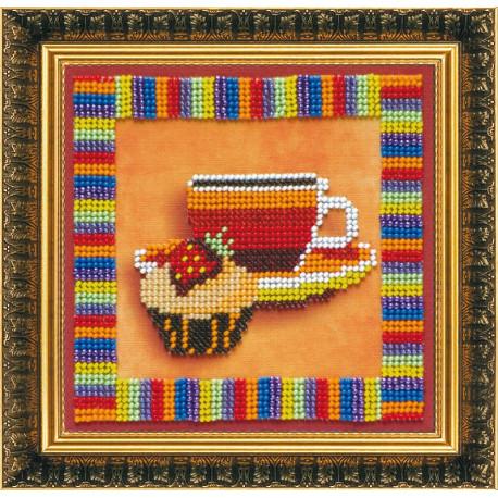 Набор для вышивания бисером Абрис Арт АВ-093 Чашечка фото