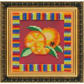 Набор для вышивания бисером Абрис Арт АВ-091 Апельсин