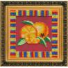 Набор для вышивания бисером Абрис Арт АВ-091 Апельсин фото