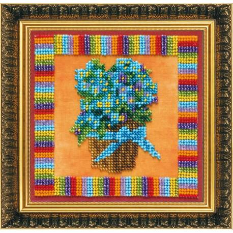 Набор для вышивания бисером Абрис Арт АВ-090 Гортензия фото
