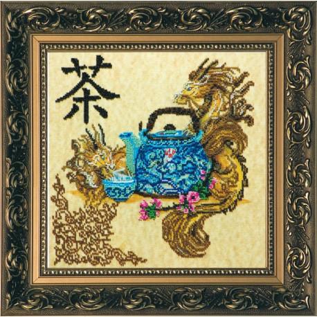 Набор для вышивания бисером Абрис Арт АВ-113 Китайское чаепитие