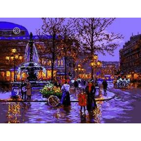 Набор для вышивания гобелен Goblenset  G838 Старый Париж