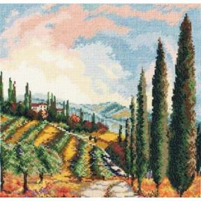 """Набор для вышивания Anchor MAIA 01191  """"Valley Vineyard/Виноградники Вэлли """""""