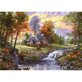 Набор для вышивания гобелен Goblenset  G975 Осенний рай
