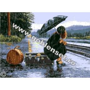 Набор для вышивания гобелен Goblenset  G947 Поезд жизни