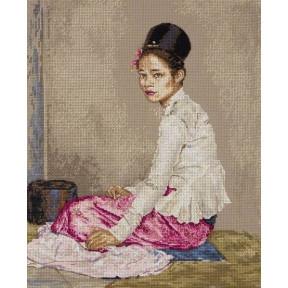 """Набор для вышивания Anchor MAIA 01146 """"Burmese Silk/Бирманский шелк """""""