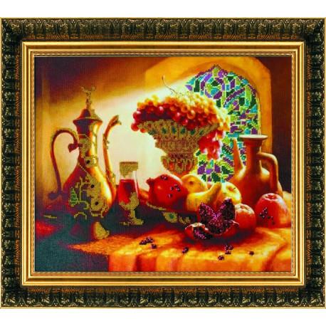 Набор для вышивания бисером Абрис Арт АВ-005 Арджуна фото
