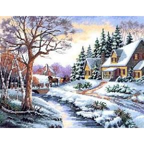 Набор для вышивания  Dimensions 13691 Winter Outing