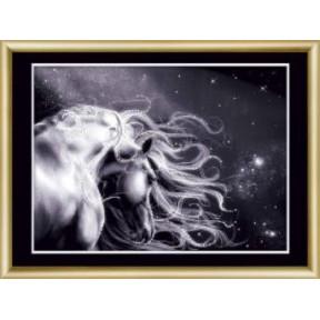 Набор для изготовления картины со стразами Чарівна Мить КС-189 Ночной вираж