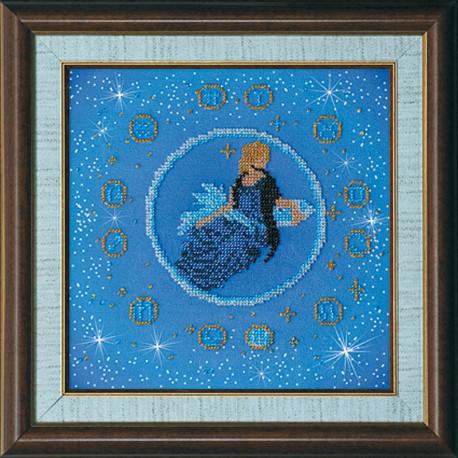 Набор для вышивания бисером Абрис Арт АВ-007-10 Дева фото
