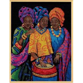 Набор для вышивания  Dimensions 35254 Yoruban Beauties