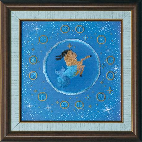 Набор для вышивания бисером Абрис Арт АВ-007-11 Козерог фото