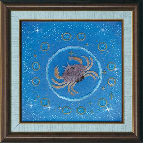 Набор для вышивания бисером Абрис Арт АВ-007-02 Рак фото