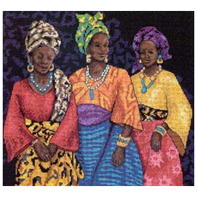 Набор для вышивания  Dimensions 35092 Three Yoruban Women
