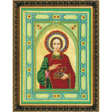 Набор для вышивания бисером Абрис Арт АВ-062 Святой Пантелеймон