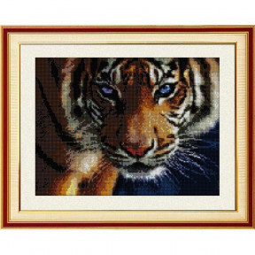Набор для рисования камнями Dream Art.  30028 Взгляд тигра