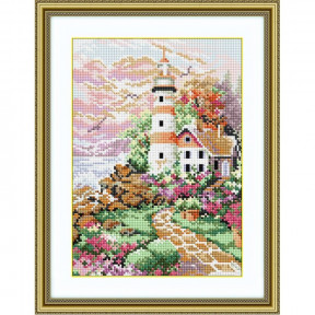 Набор для рисования камнями Dream Art. 30064 Маяк на рассвете
