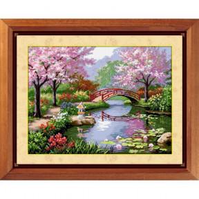 Набор для рисования камнями Dream Art.  30032 Японский сад