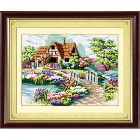 Набор для рисования камнями Dream Art. 30068 Домик мечты