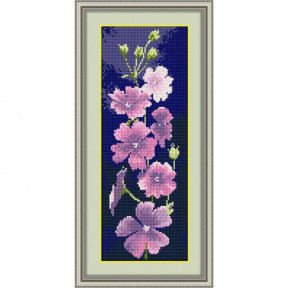 Набор для рисования камнями Dream Art.  30037 Герань(панель)