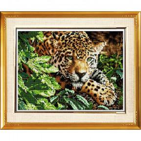 Набор для рисования камнями Dream Art.  30090D Леопард на отдыхе