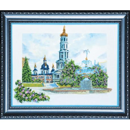 Набор для вышивания бисером Абрис Арт АВ-054 Покровский собор