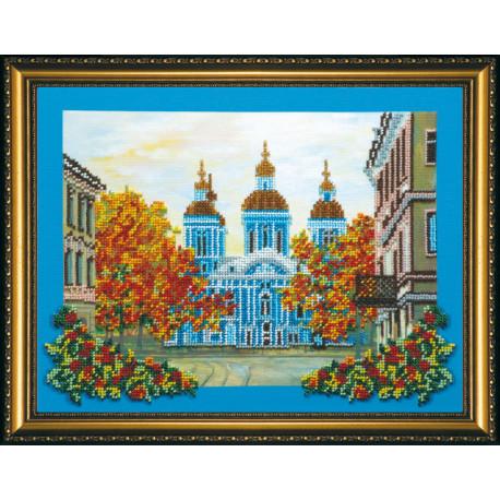 Набор для вышивания бисером Абрис Арт АВ-071 Никольский собор