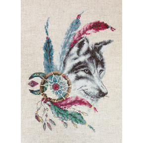 Набор для вышивки крестом Luca-S B2305 Волк
