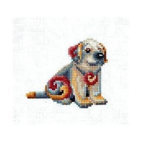 Набор для вышивки Сделай Своими Руками Статуэтки.Собака С-42