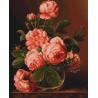 Набор для вышивки крестом Luca-S Розы в вазе B488 фото