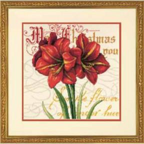 Набор для вышивки Dimensions 71-09148 Elegant Amarillis