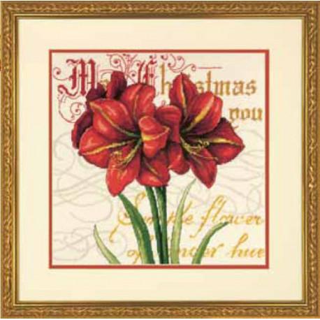 Набор для вышивки Dimensions 71-09148 Elegant Amarillis фото