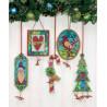 Набор для вышивки Dimensions 70-08868 Jingle Bell Ornaments фото