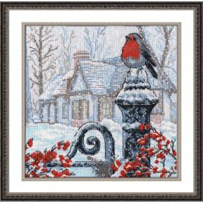 Набор для вышивки крестом Овен 693 Рождественское утро