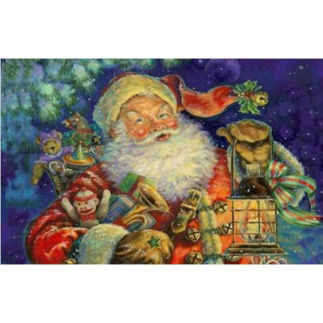 Набор для вышивки Dimensions 70-08865 Nighttime Santa фото