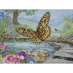 """Набор для вышивания Anchor MAIA 01232  """"3D Butterfly /3D Бабочка"""""""