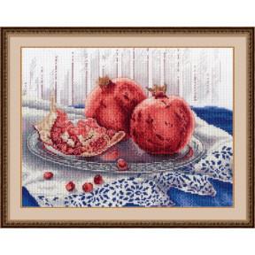 Набор для вышивки крестом МП Студия НВ-529 Гранатовое настроение