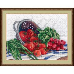 Набор для вышивки крестом МП Студия НВ-531 Сочный урожай