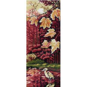 Набор для вышивки крестом МП Студия НВ-264 Триптих Птица