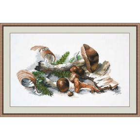 Набор для вышивки крестом Овен 909 Лесной натюрморт