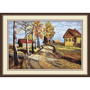 Набор для вышивки крестом Овен 651 Провинциальная осень