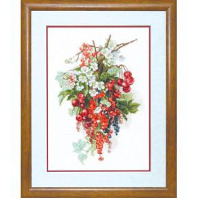 Набор для вышивки  крестом Чарівна Мить М-266 Сладкая ягода