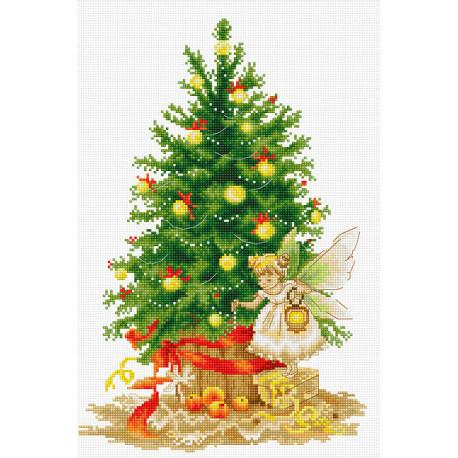 Набор для вышивки крестом Luca-S B1117 Рождественская ёлка фото