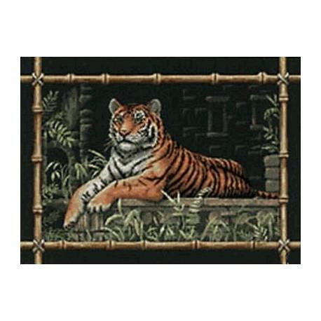 Набор для вышивания Dimensions 35158 Bamboo Tiger фото