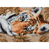 Набор для вышивки крестом Dimensions 65056 Beguiling Tiger фото