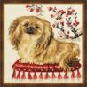 Набор для вышивки крестом Риолис 1243 Пекинес фото