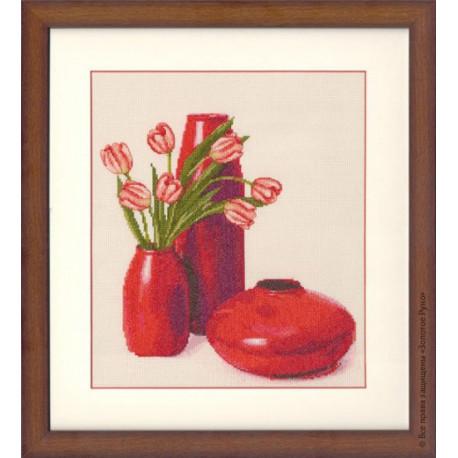 Набор для вышивки Золотое Руно СЖ-022 Тюльпаны фото