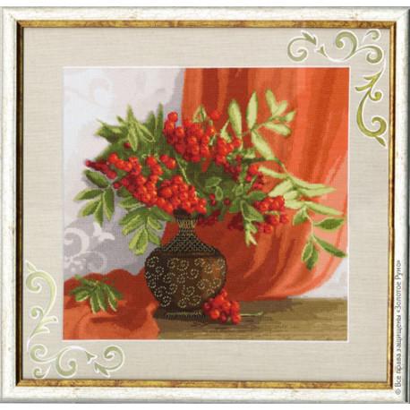 Набор для вышивки Золотое Руно СЖ-020 Красный натюрморт фото