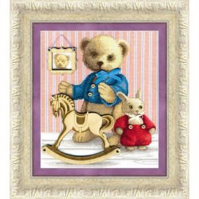 Набор для вышивки крестом Чарівна Мить М-241 Друзья фото
